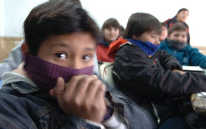 frio escuela