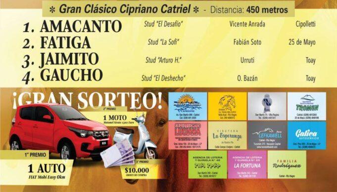 gran clasico cipriano Catriel