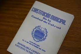 constitucion municipal catriel