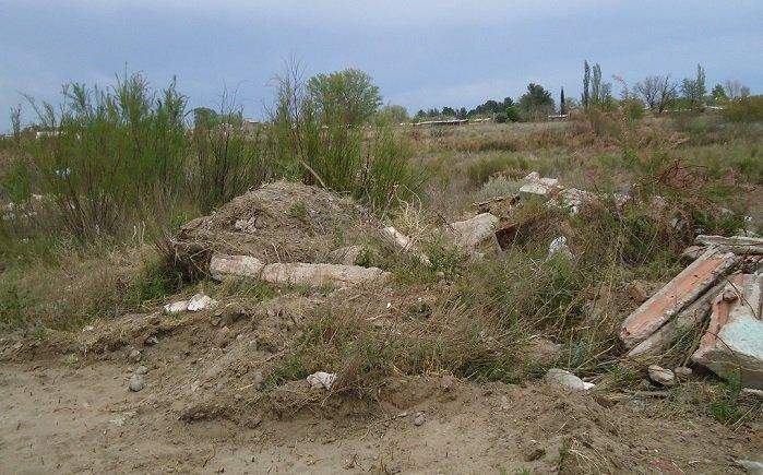 """Catriel25Noticias.com basural-15-1 Basural clandestino: """"Este era un lugar muy lindo, me duele en el alma"""" Destacadas LOCALES"""