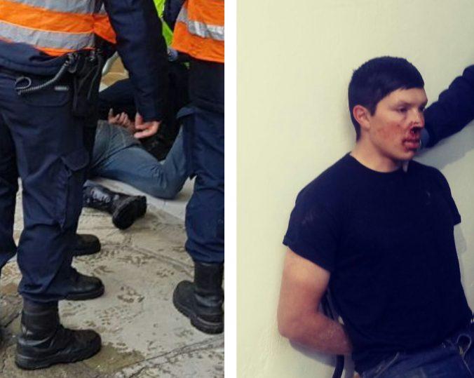 Policia Detenido