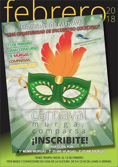 Afiche Carnaval 2018 Copia