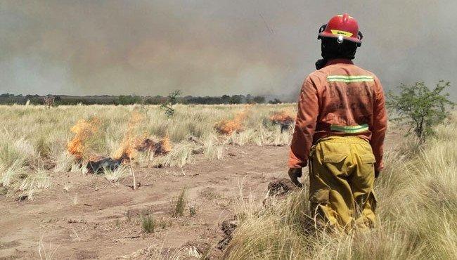 Incendios La Pampa