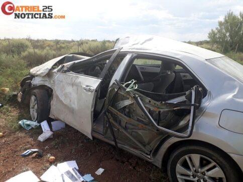 Catriel25Noticias.com vuelco-toyo1-484x363 Ruta 151: Tres accidentes, una persona fallecida Destacadas LOCALES NOTICIAS