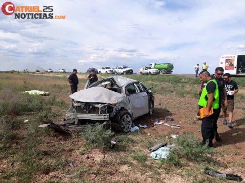 Catriel25Noticias.com vuelco-toyo2-484x363 Ruta 151: Tres accidentes, una persona fallecida Destacadas LOCALES NOTICIAS