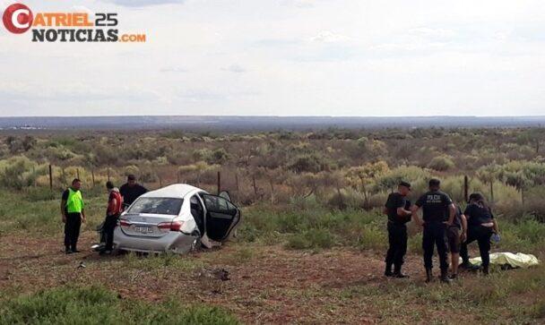 Catriel25Noticias.com vuelco-toyo3-608x363 Ruta 151: Tres accidentes, una persona fallecida Destacadas LOCALES NOTICIAS