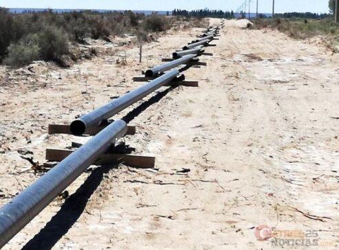 Catriel25Noticias.com gasoducto5-493x363 Catriel - 25 de mayo. Avanza la obra del gas domiciliario Destacadas LOCALES NOTICIAS