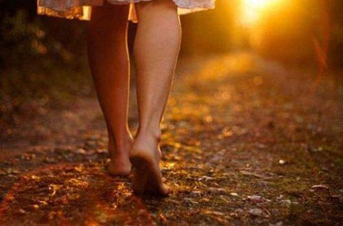 Caminar Descalza