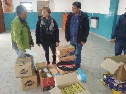 Catriel25Noticias.com merenderos-sindicato1-484x363 Solidaridad. Sindicato petrolero donó insumos a comedores Destacadas LOCALES