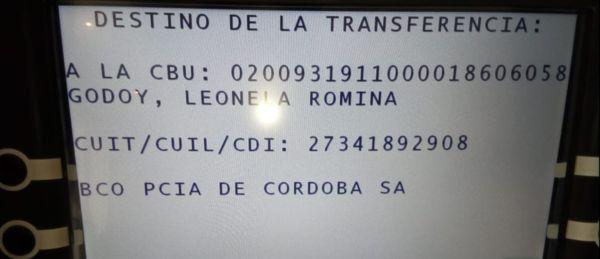 ticket- leonela