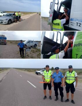 control ruta 20 - Catriel25Noticias.com