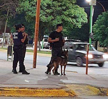 policias-calle catriel