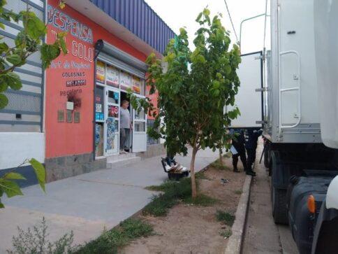 asalto camion - Catriel25Noticias.com