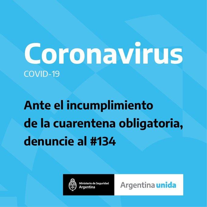 coronavirus linea - Catriel25Noticias.com
