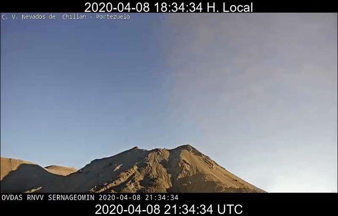 volcan chillan - Catriel25Noticias.com