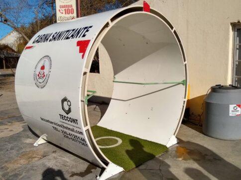 cabina sanitizante1 - Catriel25Noticias.com