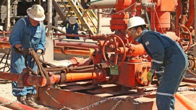 petrolero pozo
