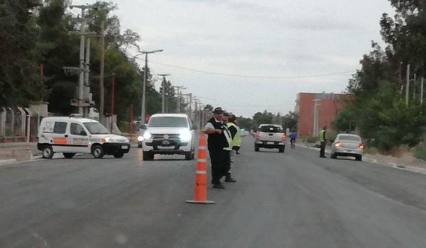 transito control actriel - Catriel25Noticias.com