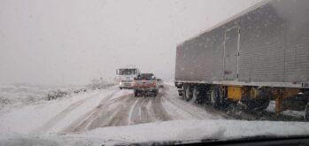 nieve ruta5 - Catriel25Noticias.com
