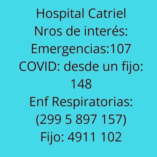 hospital nros - Catriel25Noticias.com