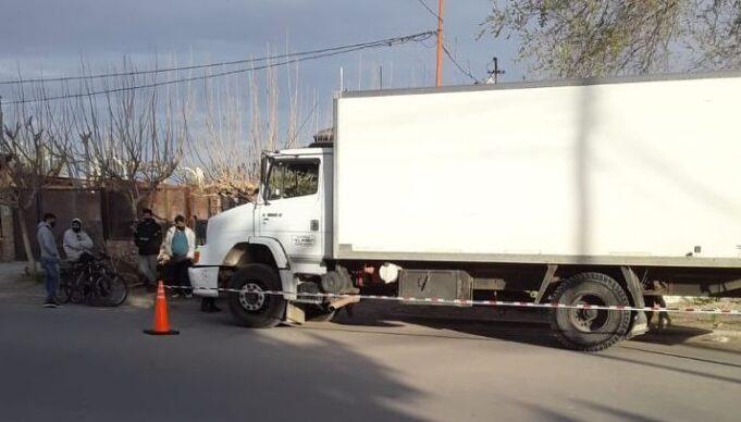 robo-camion 4 esquinas