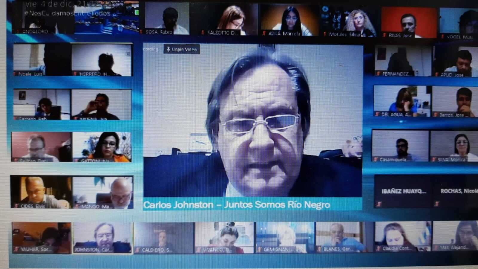 johsnton sesion online - Catriel25Noticias.com