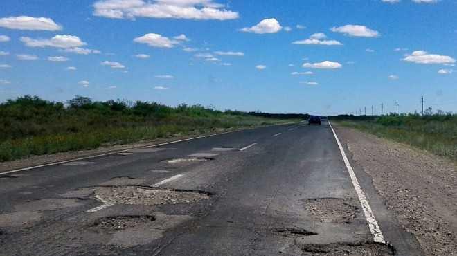 ruta 151 muy rota - Catriel25Noticias.com