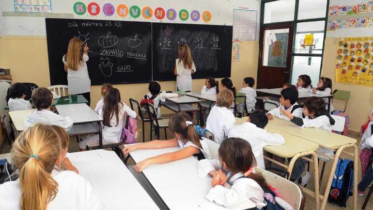 alumnos escuela - Catriel25Noticias.com