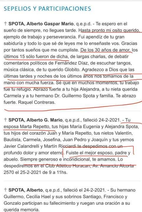 avisos funebres - Catriel25Noticias.com