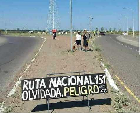 ruta 151 reclamos - Catriel25Noticias.com