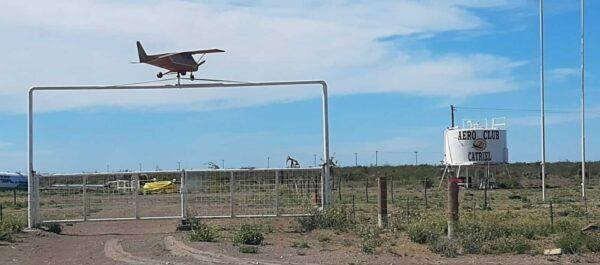 Aeroclub Catriel: comenzarán los trabajos para la construcción de la pista