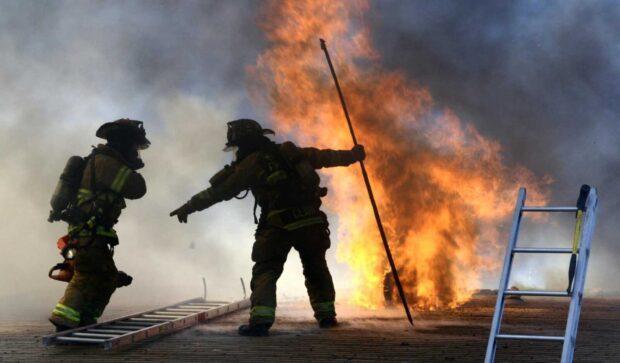 bomberos fuego - Catriel25Noticias.com