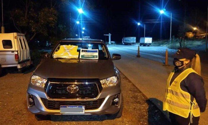 Camioneta robada en Neuquén fue secuestrada en Puente Dique Catriel