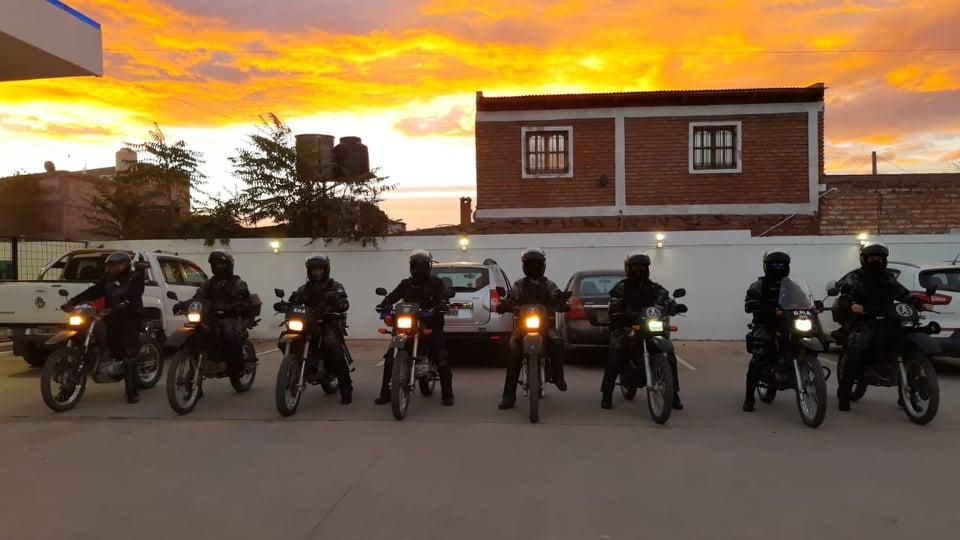 policias motos3 - Catriel25Noticias.com