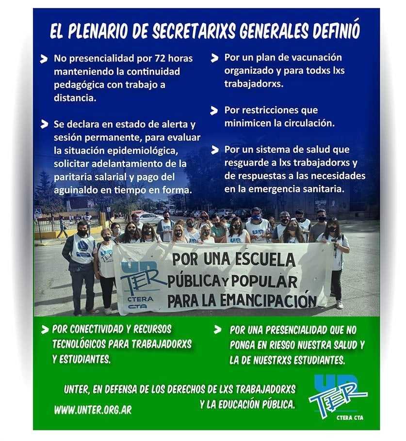 unter plenario - Catriel25Noticias.com