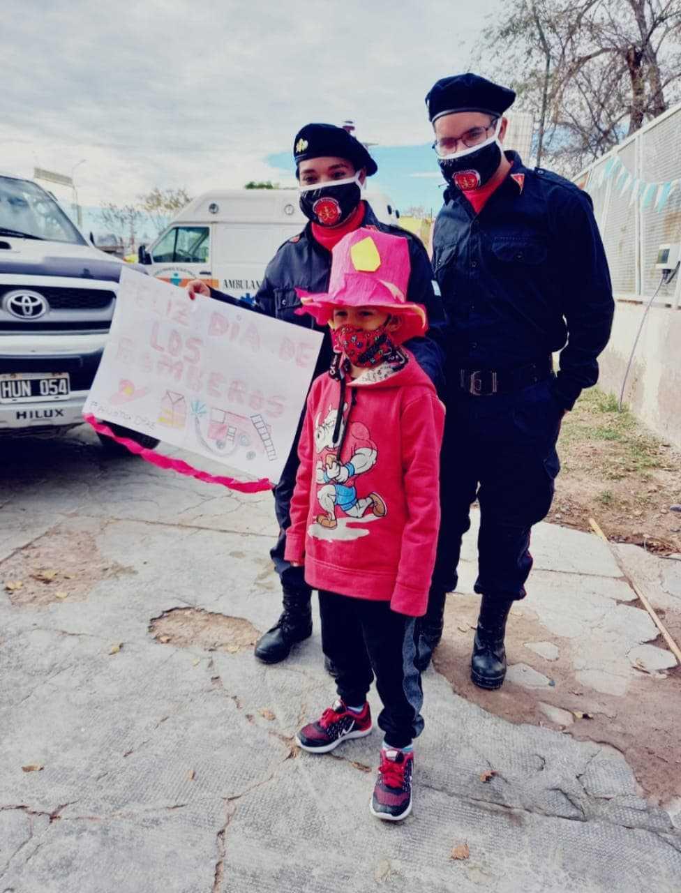 bomberos nene dibujo - Catriel25Noticias.com