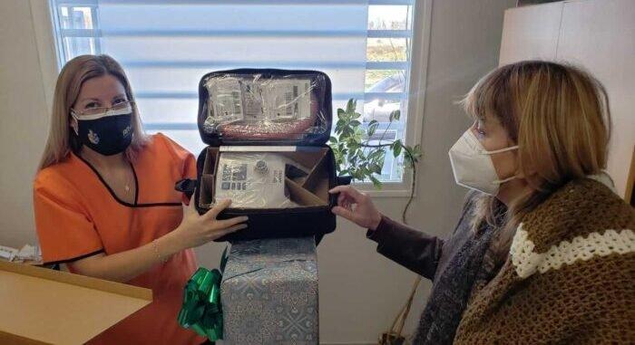 Covid-19: Municipio de Catriel hizo entrega de equipamiento al hospital