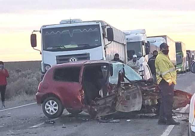 Ruta 151: otro accidente cerca de Catriel. Dos heridos