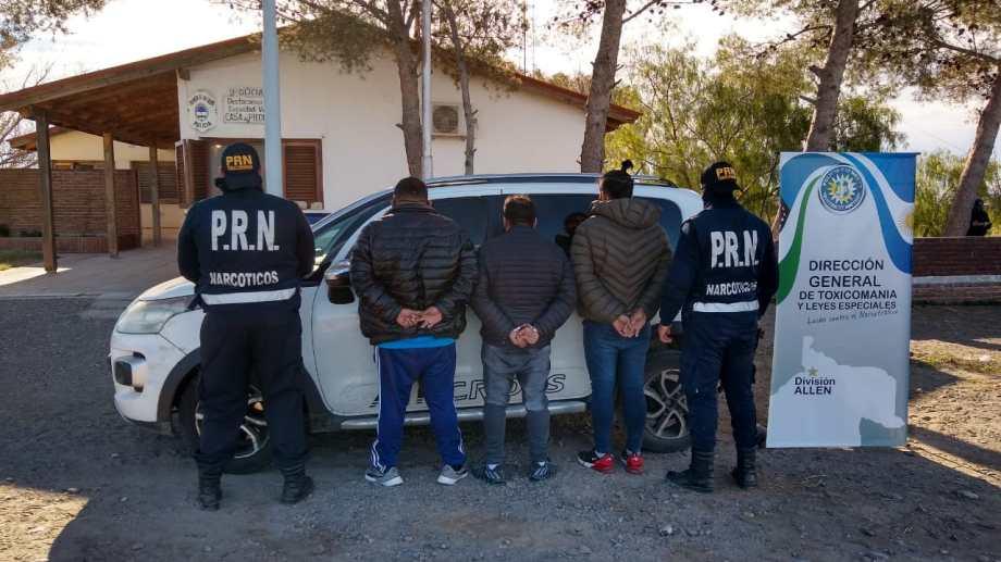En importante procedimiento secuestran casi 10 kilos de cocaína en Casa de Piedra