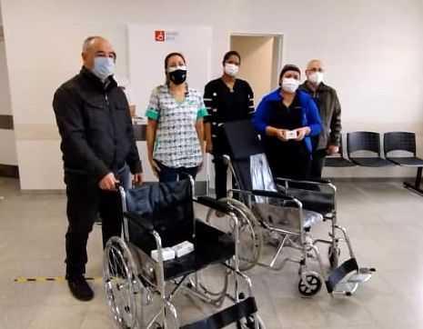 Catriel: comerciantes realizaron nueva donación al hospital local